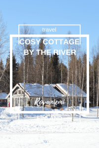 A Cosy Cottage by the River in Rovaniemi