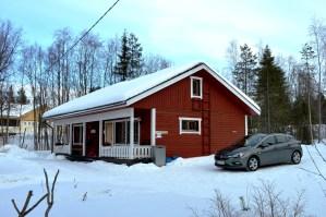 Lake side accommodation In Ruka, Finnish Lapland
