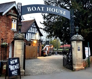 Boat House pub at Wallingford