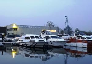 Harleyford Marina on the River Thames