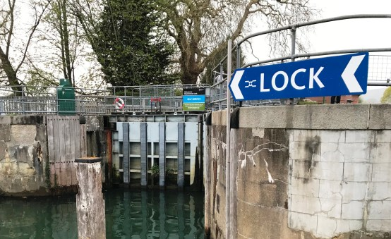 Mapledurham Lock on the River Thames