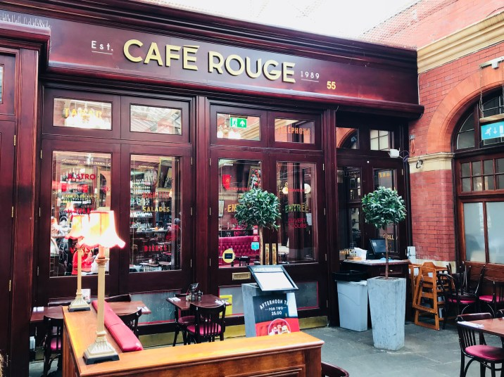 Café Rouge in Windsor;