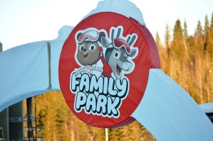 Rosa and Rudolph Family Park in Ruka, Finland