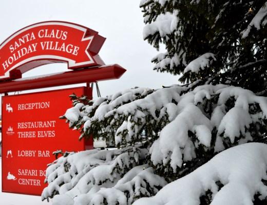 Santa Claus Holiday Village in Rovaniemi, Finnish Lapland