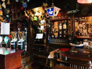 Bar at Gertie Browne's pub in Athlone