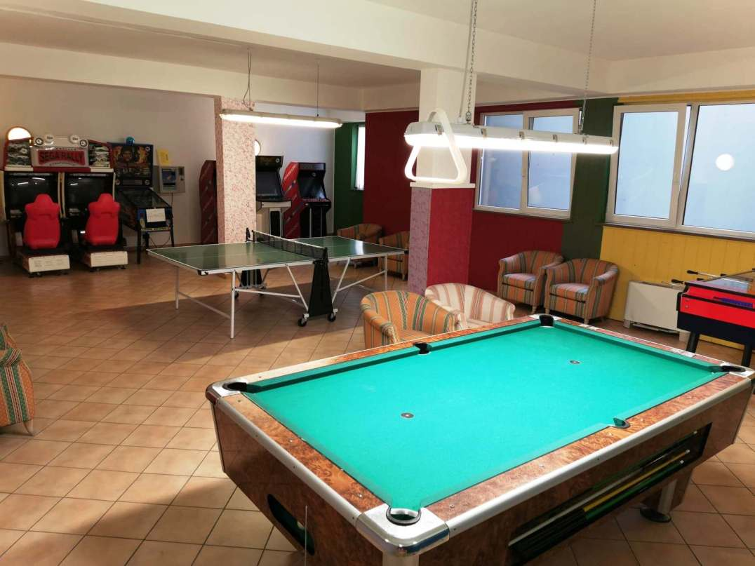 Games Room at Aparthotel Majestic, Pedazzo