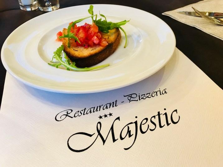 Restaurant Pizzeria Majestic at Aparthotel Majestic, Predazzo