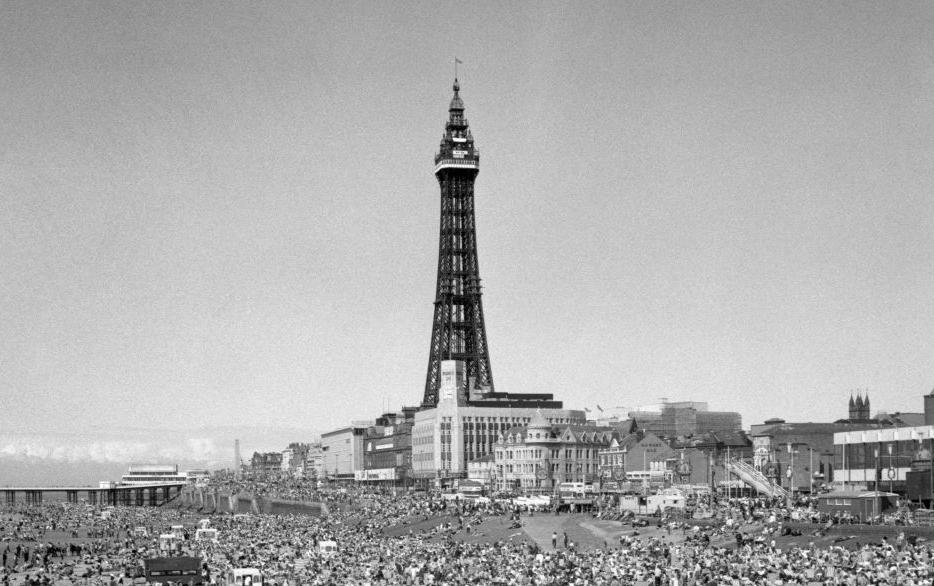 Blackpool Pleasure Beach in the 1970's