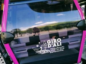 Cable car to Giro D'Ali Parco Giochi sull'Acqua