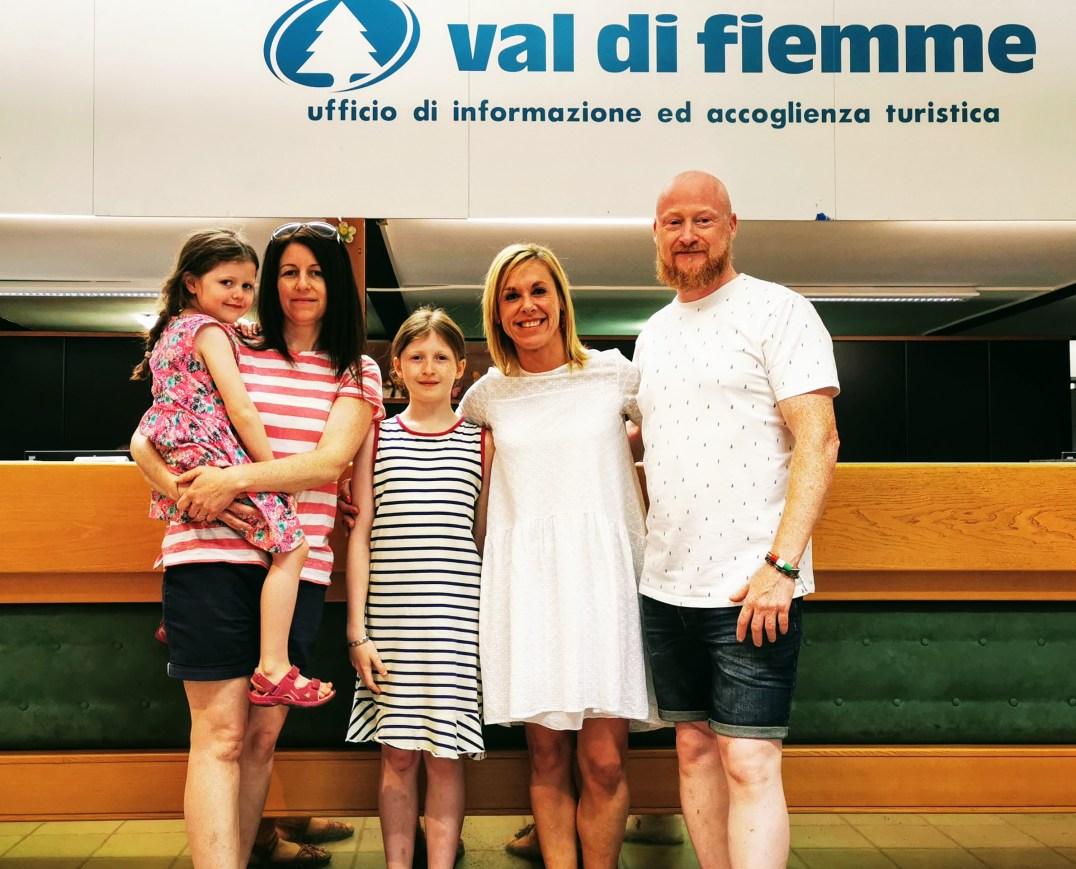 Around The World In 18 Years and Cristiana Tomasini of Val di Fiemme Toursim