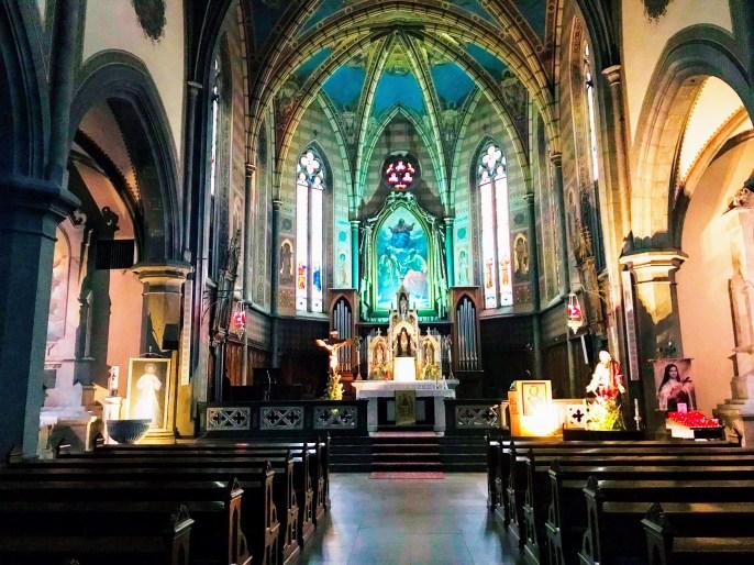 The Church of Predazzo or Chiesa arcipretale dei Santi Filippo e Giacomo (official)