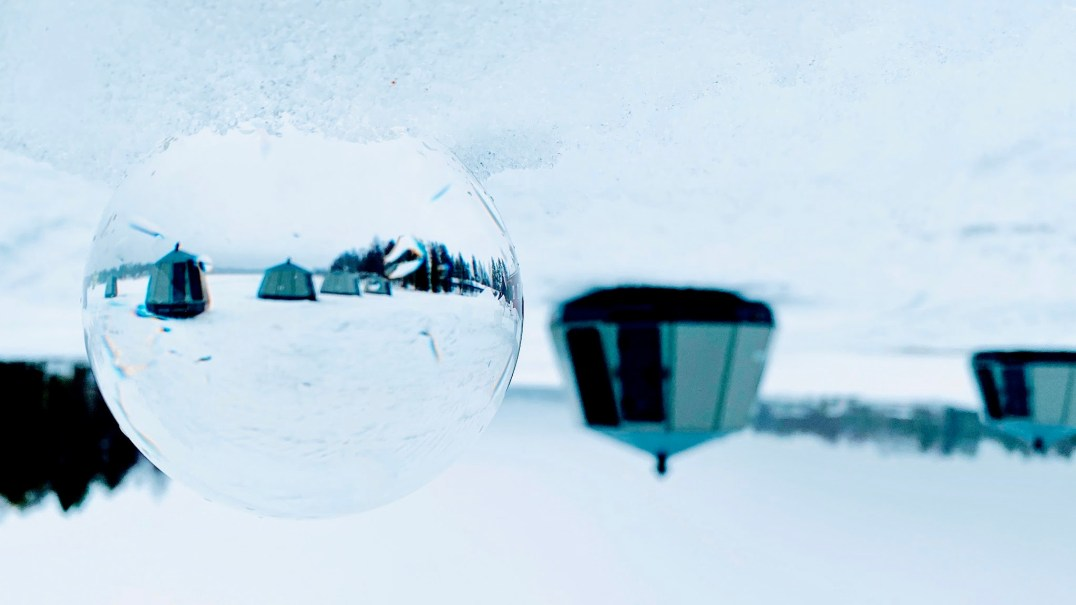 Glass Igloo Accommodation at Arctic Guesthouse & Igloos, Ranua