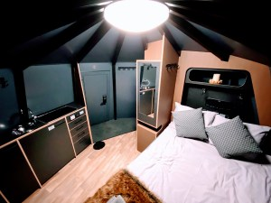 Arctic Guesthouse & Igloos Glass Igloo Accommodation
