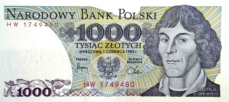 Poland 50 Zloty 1982 banknote front