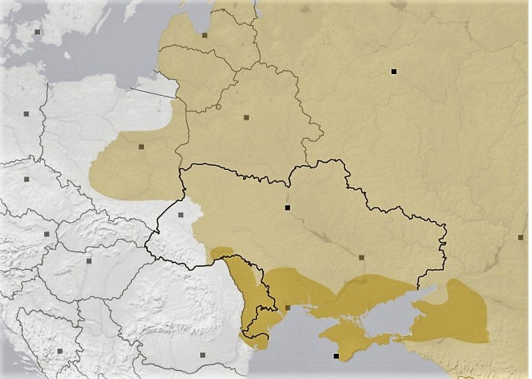 map of 19th century Russian empire