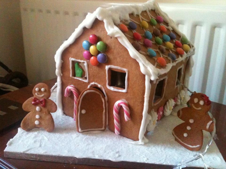 rachel allen gingerbread house  Around The World in a Wooden Spoon