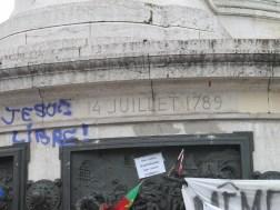 Place de la Republique, 14 July, 14 Juillet 1789, Paris, France, Bastille Day, Terrorist attacks, I am free