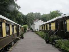 B and B, hotel, England, Petworth, The Old Railway Station, travel, railroad, Pullman
