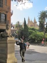 The Blogger Palma, Mallorca October 2016.