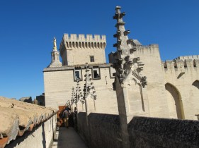 Palace of the Popes Avignon, France.
