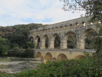 Pont du Gard and Roman aqueduct.