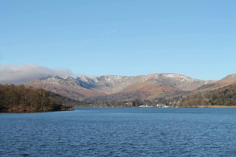 winter lake district