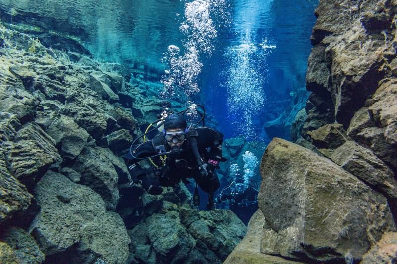 silfra best dive site