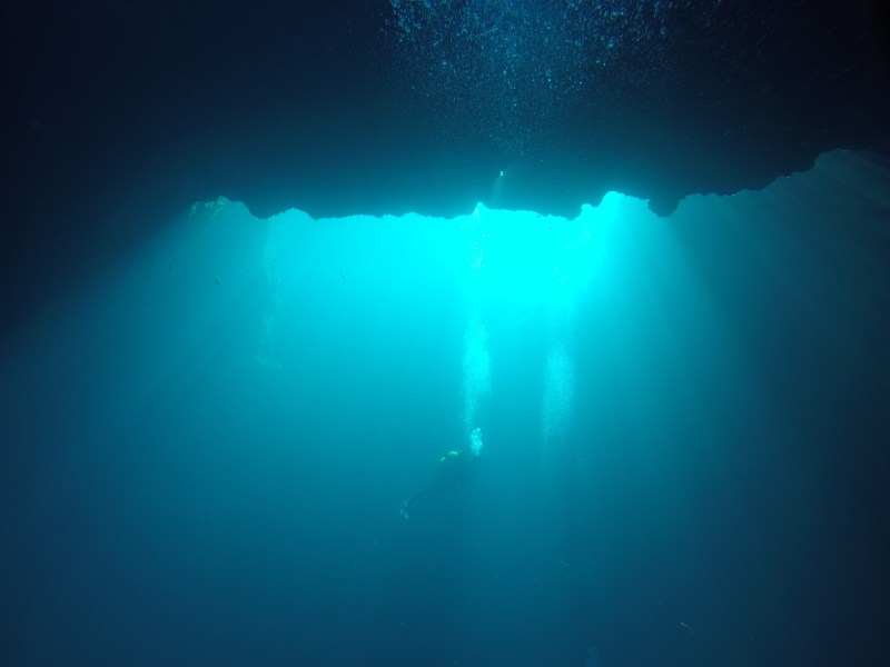 dive blue hole gozo