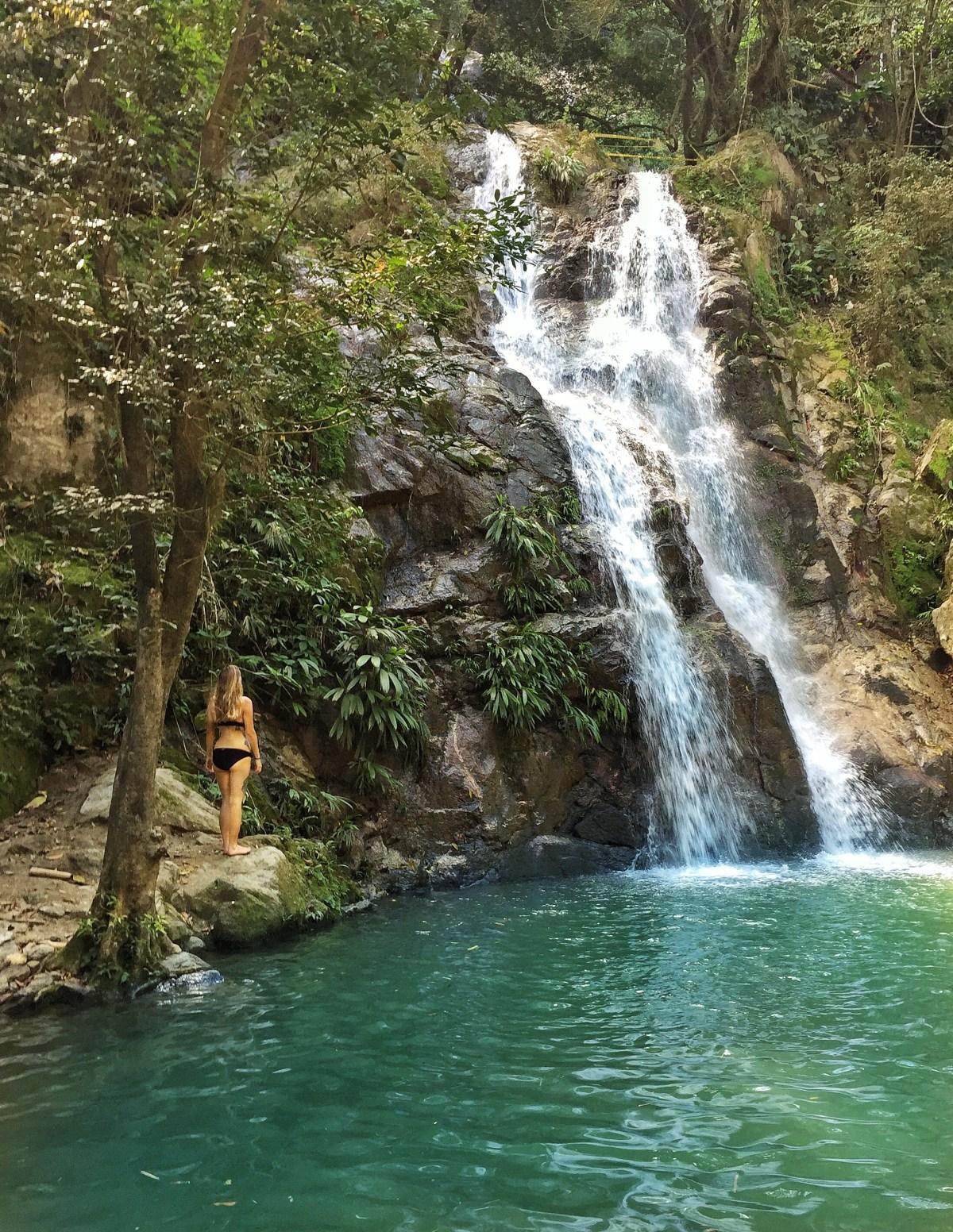 Marinka waterfall minca
