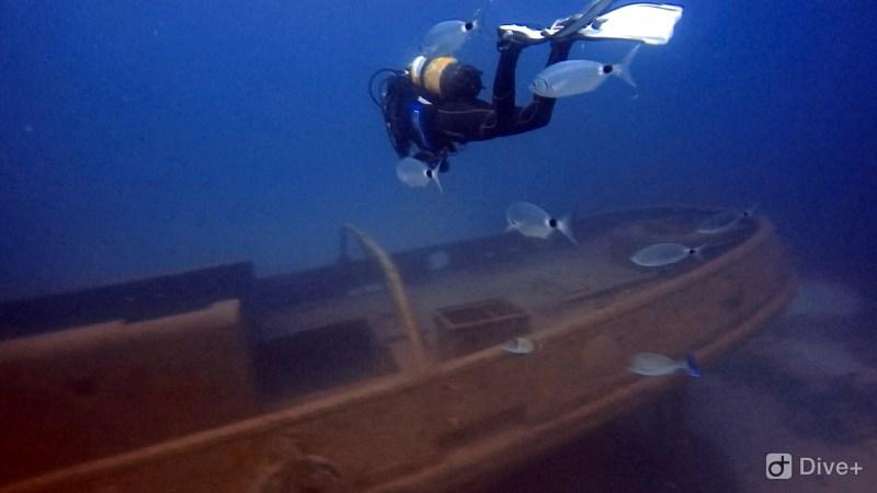 Deep dive wreck