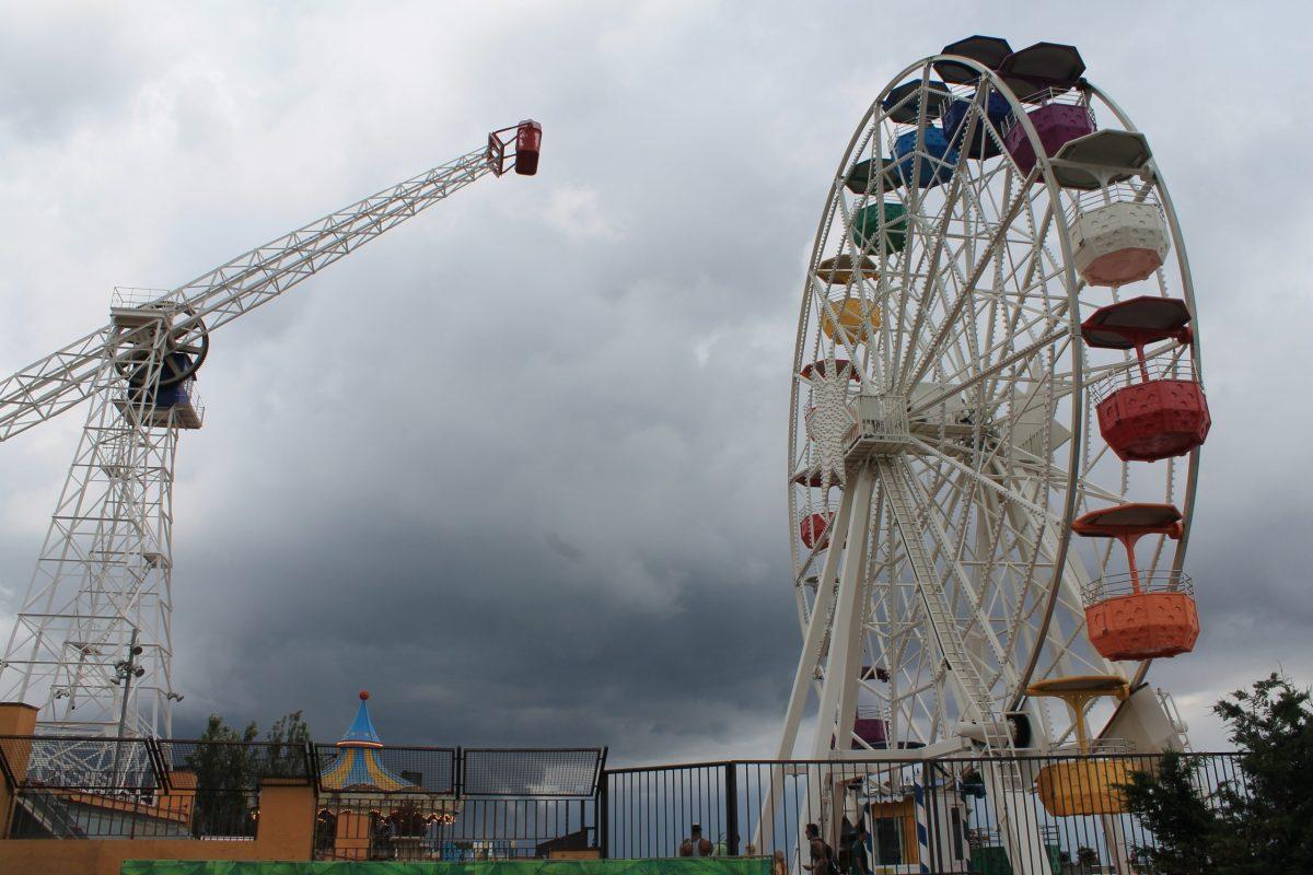 tobidabo amusement park