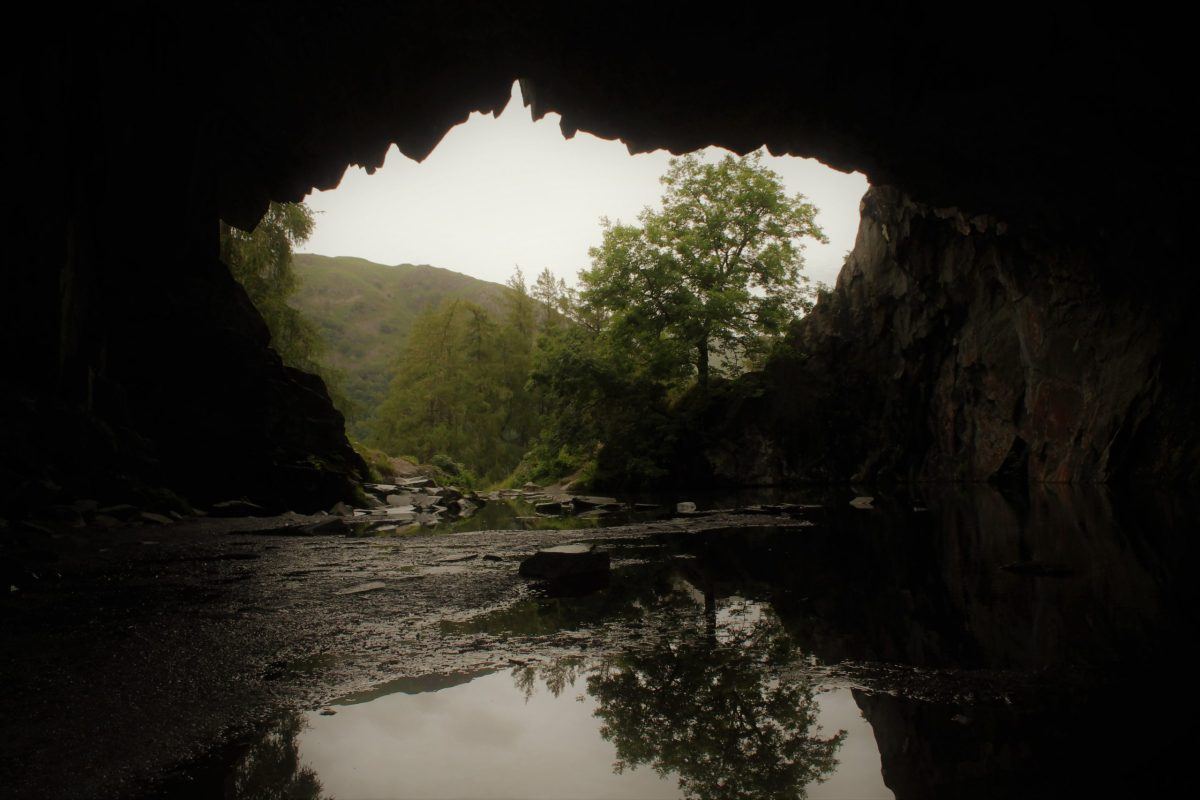 rydal caves inside