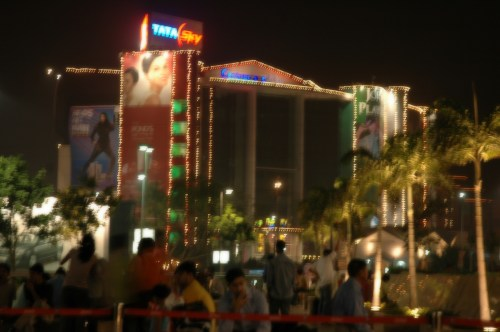 One of the large popular malls in Noida