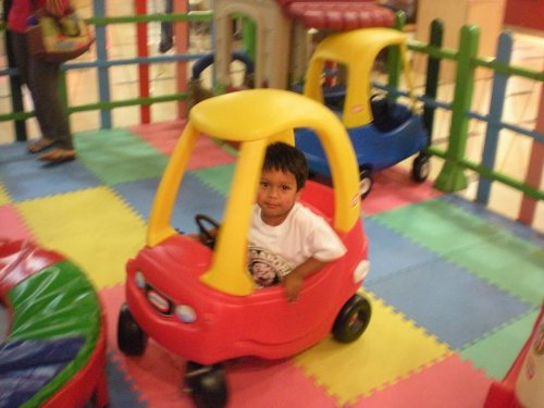 He was so excited to find the Cozy Coupes