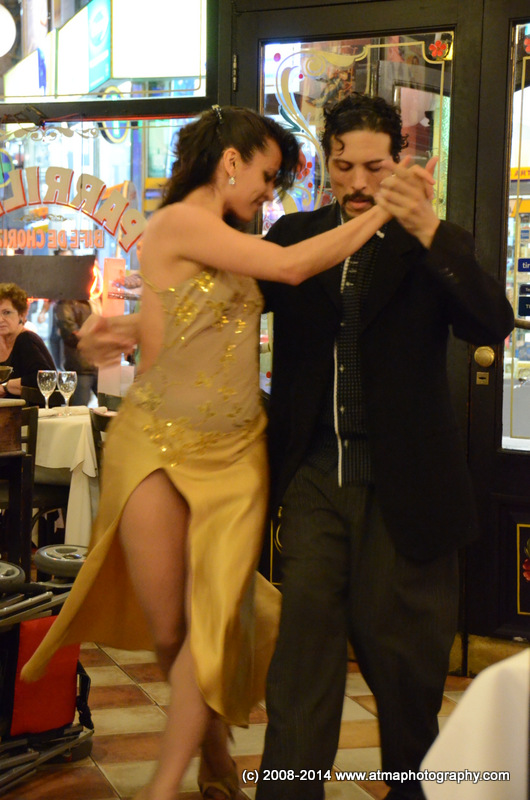 Excellent Tango.  So-so food.