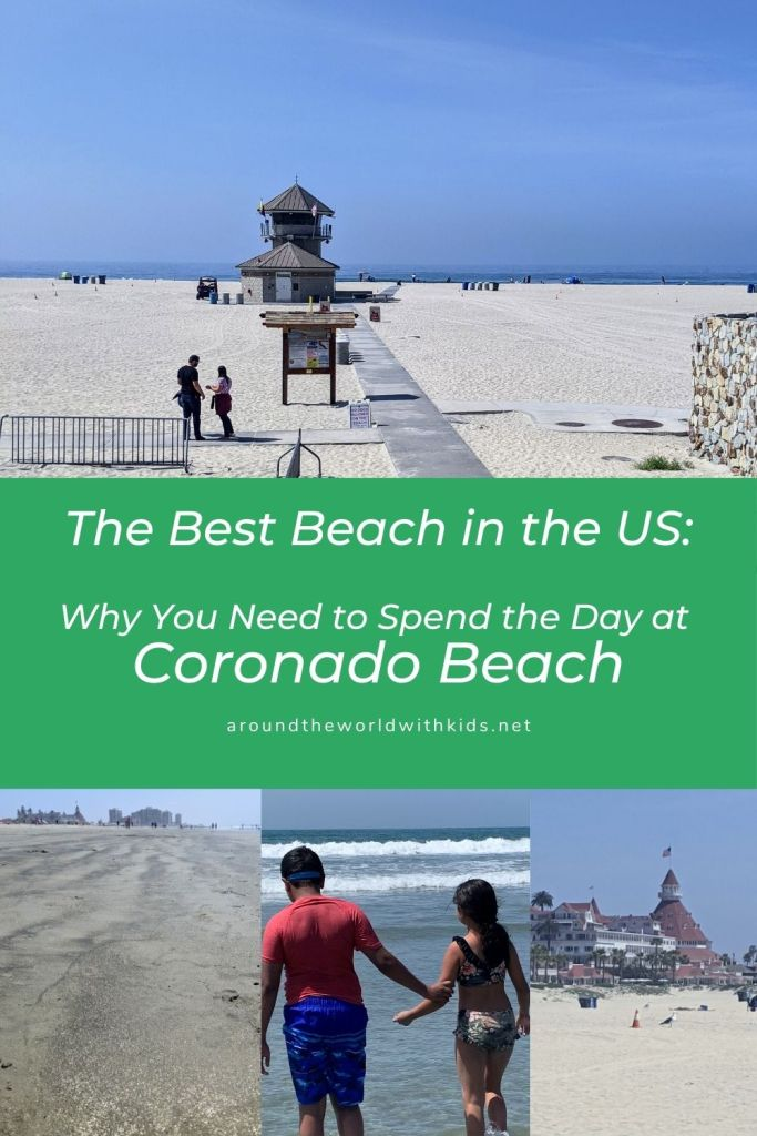 The best beach in the US:  Why you need to spend the day at Coronado Beach
