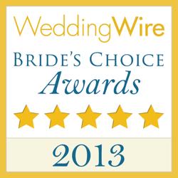 2013 Wedding Wire Bride's Choice Logo