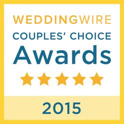 2015 Wedding Wire Bride's Choice Logo