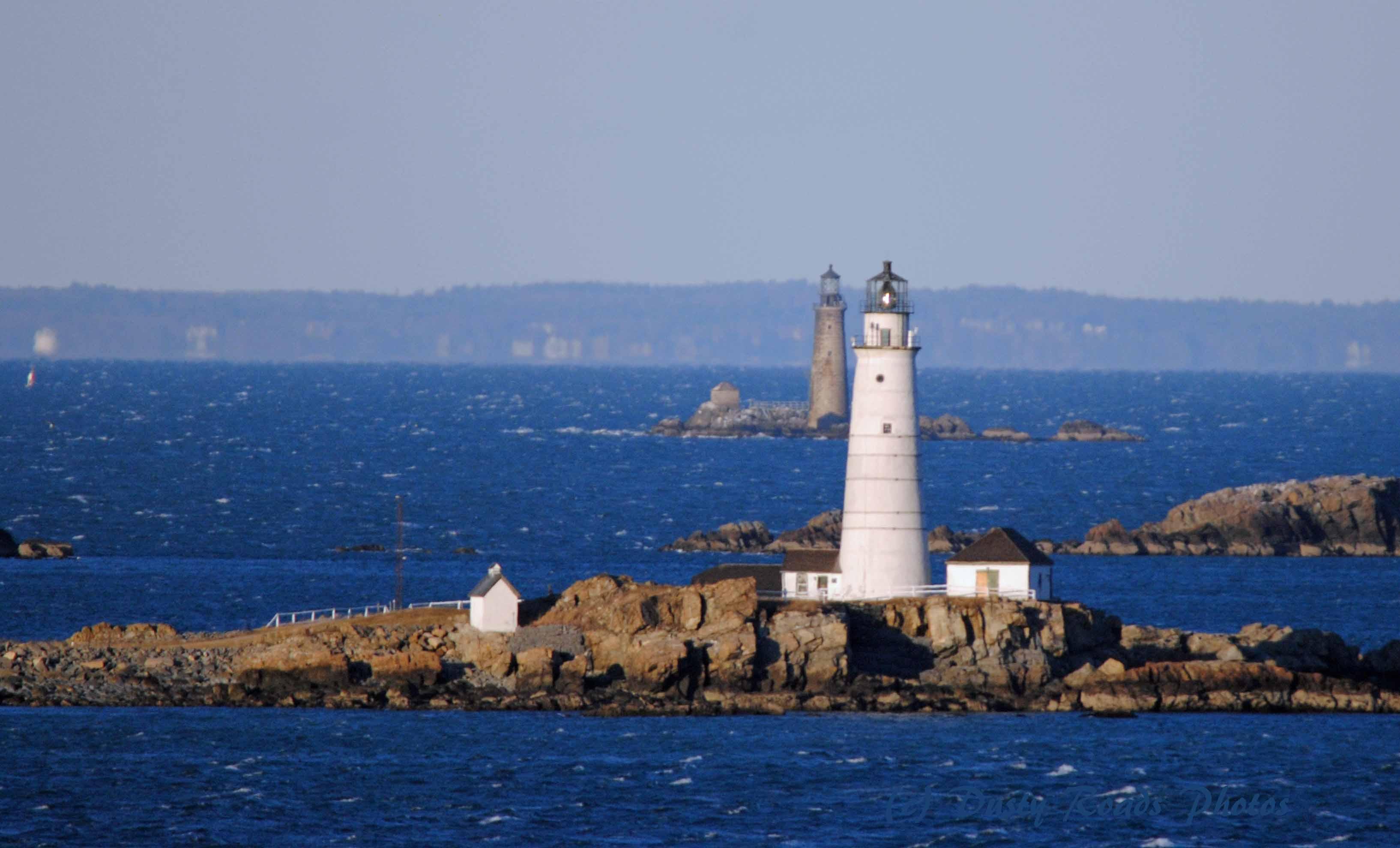Lighthouses of Boston Harbor  aroundustyroads