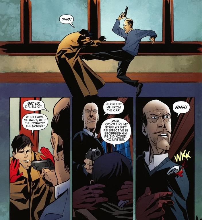 The benefits of Alfred Pennyworth  Arousing Grammar