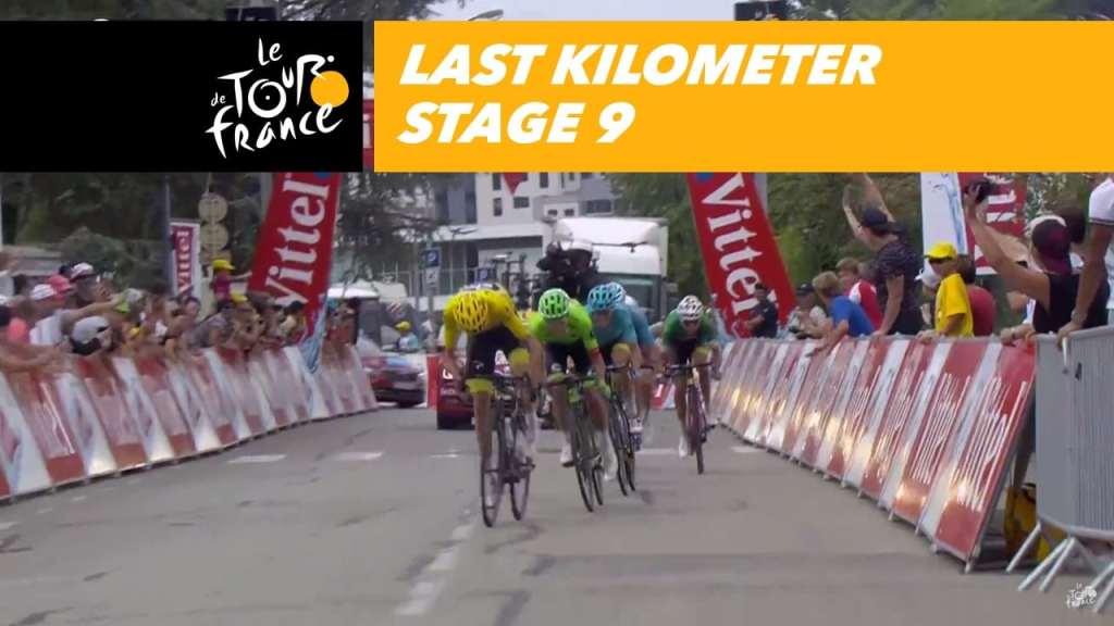 Ciclistas en la novena etapa del Tour de Francia