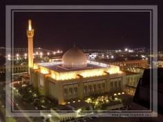 Masjid Al Kabir in Kuwait (night)