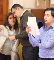 Equipo MINED visita talleres ARPA en Rengo