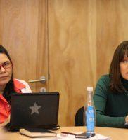 Xiomara Rodríguez y Alejandra Mizala
