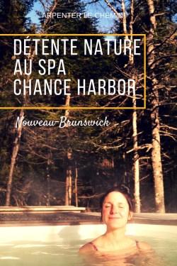 spa chance harbour nouveau-brunswick saint-john blog voyage