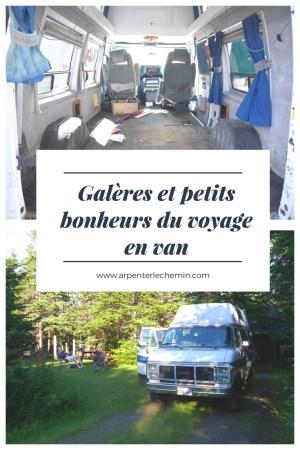blog voyage van vanlife nouveau-brunswick canada arpenter le chemin