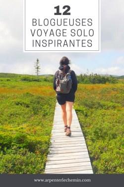 Voyager en solo au féminin blog Arpenter le chemin