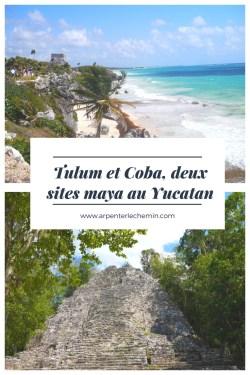 yucatan mexique tulum coba blog voyage arpenter le chemin