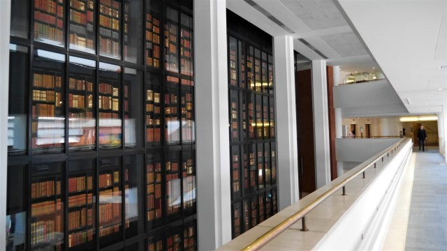British Library King's Library blog voyage Arpenter le chemin