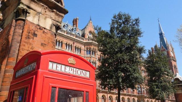 St Pancras Londres Arpenter le chemin
